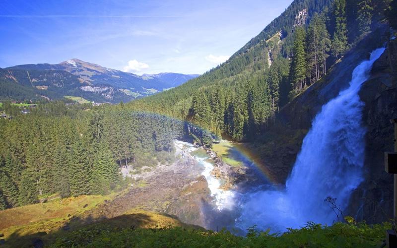 krimmler wasserfälle österreich wasserfall