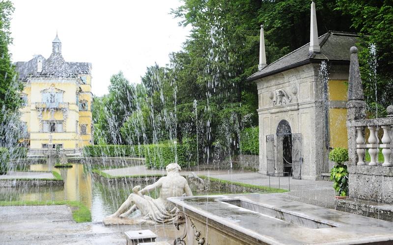 salzburg wasserspiele schöne orte österreich