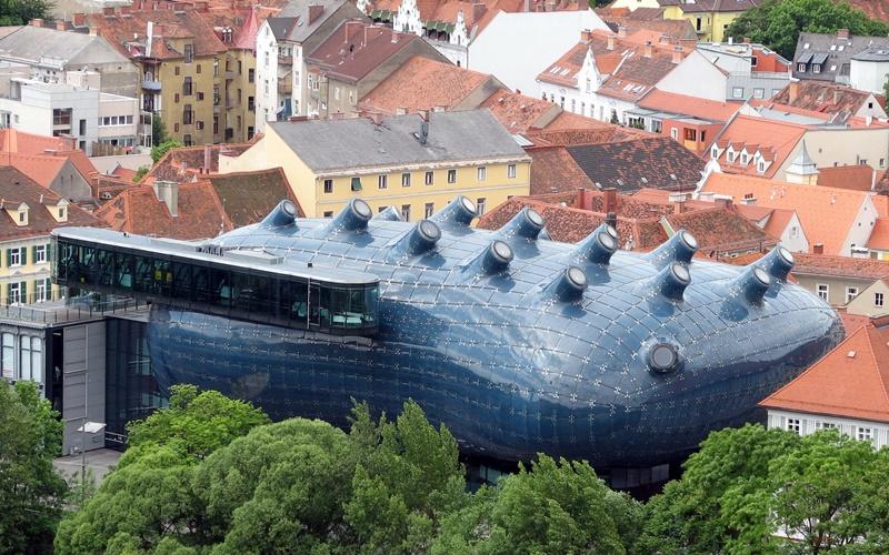 schöne städte österreich graz kunsthaus