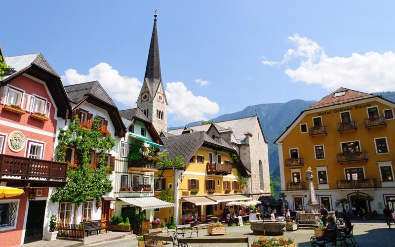schönste orte österreich sommer hallstatt
