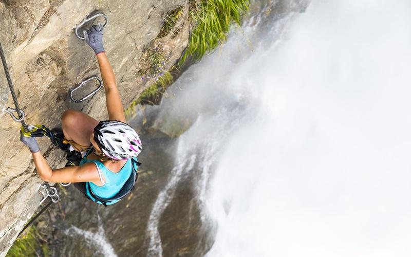 wasserfall klettern wandern österreich