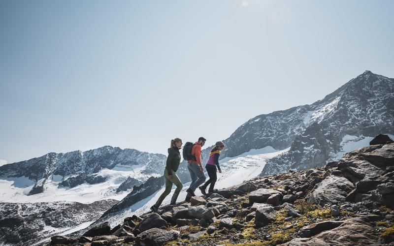 Gletscherwandern Österreich Stubaier Gletscher