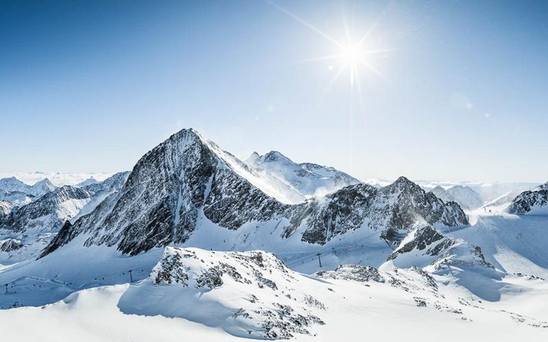 Andre Schönherr Stubaier Gletscher Panorama