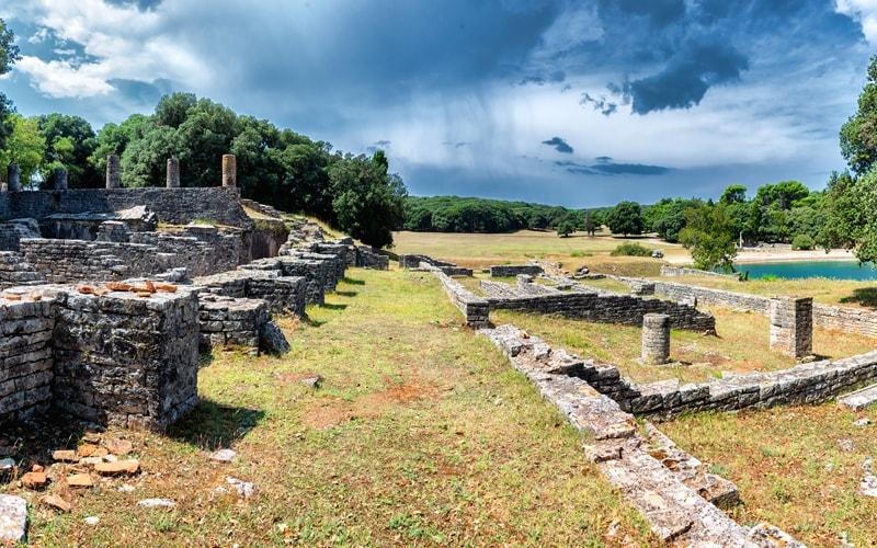 Brijuni Nationalpark archäologische Stätten