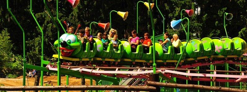 Freizeitpark Plohn Familien-Achterbahn