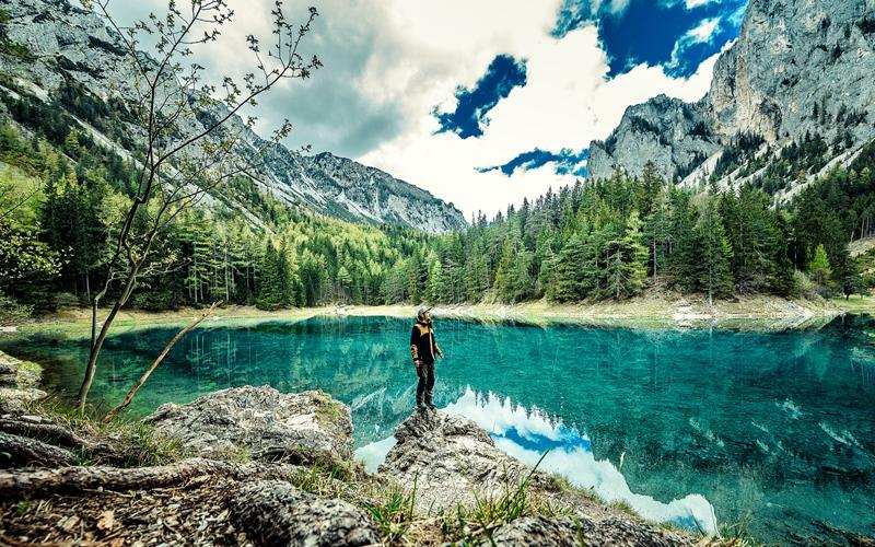 Grüner See, Österreich, Austria