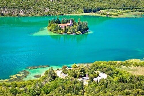 Insel Visovac Krka