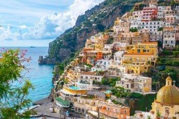 Italien Rundreise Amalfiküste Positano