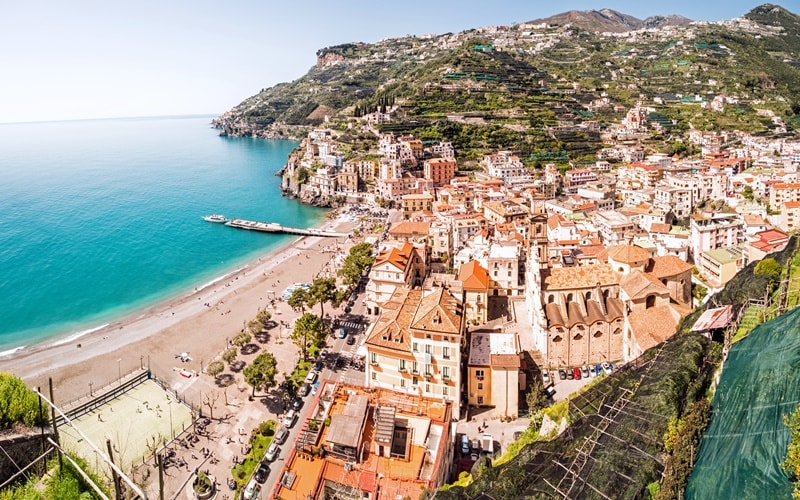 Italien Rundreise Amalfiküste
