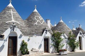 Italien Rundreise Apulien Trulli-Häuser