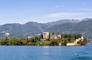Italien Rundreise Gardasee Isola del Garda