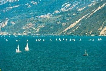 Italien Rundreise Gardasee Segelregatta