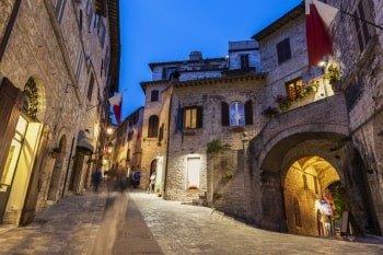 Italien Rundreise Latium Assisi