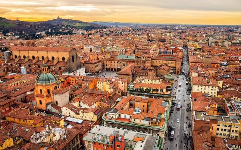 Italien Städte Bologna