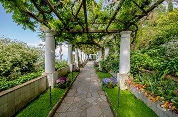 Italien Städte Capri Villa San Michele