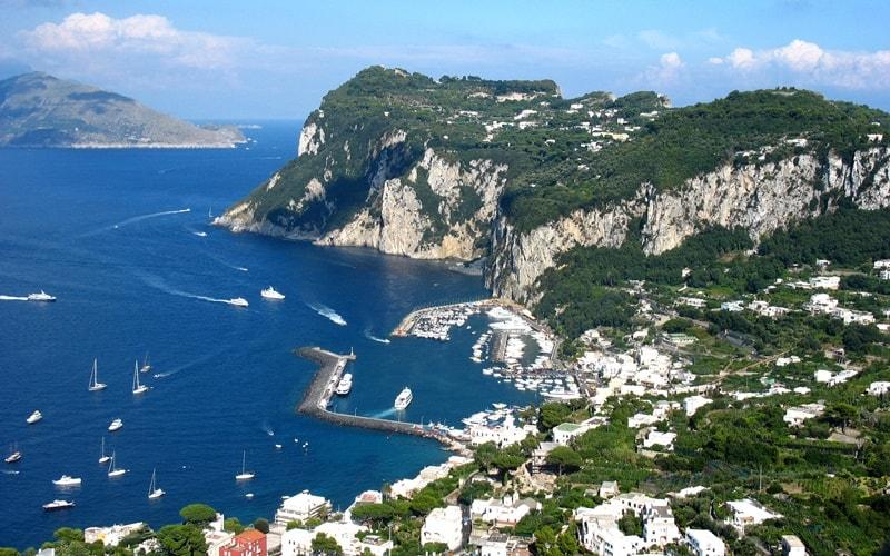 Italien Städte Capri