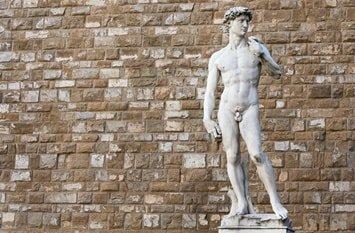 Italien Städte David Statue