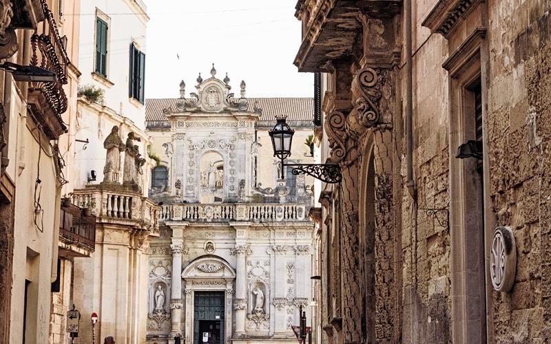 Italien Städte Lecce