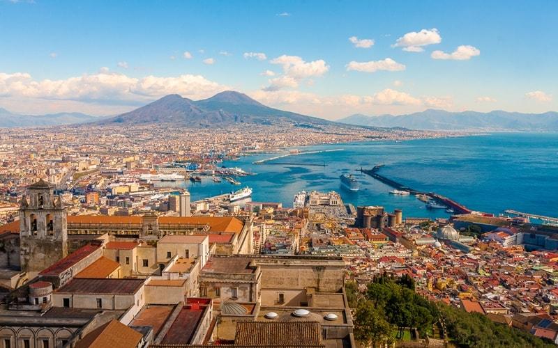 Italien Städte Neapel