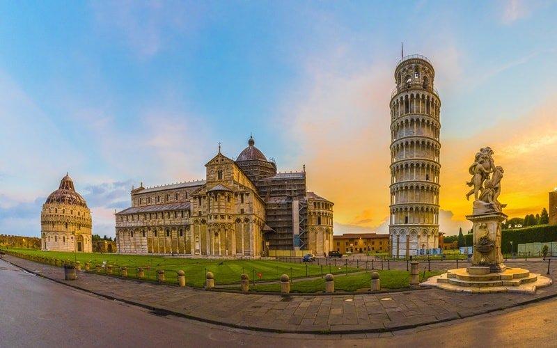 Italien Städte Pisa