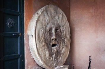 Italien Städte Rom Bocca della verità