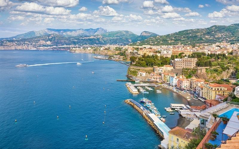 Italien Städte Sorrento
