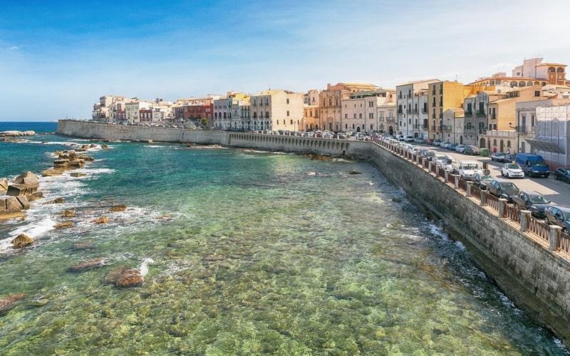 Italien Städte Syrakus