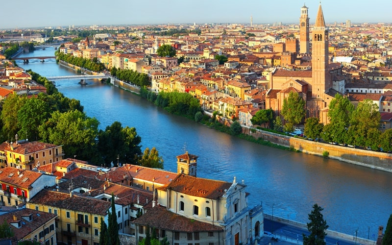 Italien Städte Verona