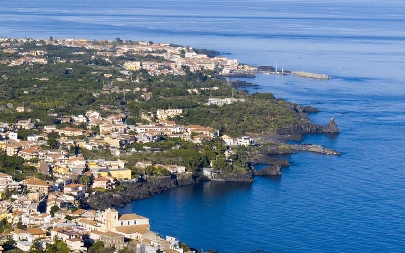Italien Urlaub am Meer Acireale