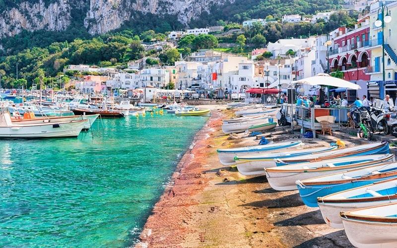 Italien Urlaub am Meer Capri