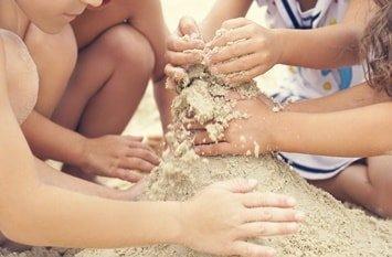 Italien Urlaub am Meer La Maddalena Kinder