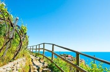 Italien Urlaub am Meer Manarola Wandern