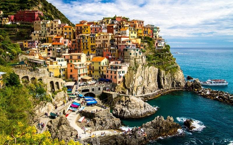 Italien Urlaub am Meer Manarola
