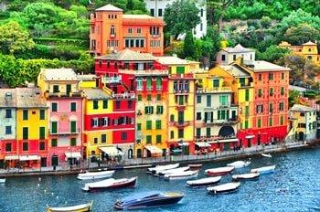 Italien Urlaub am Meer Portofino Hafen