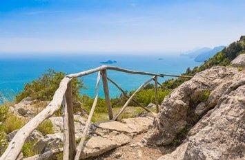 Italien Urlaub am Meer Positano Pfad der Götter