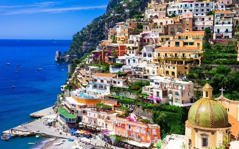 Italien Urlaub am Meer Positano
