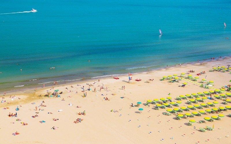Italien Urlaub am Meer Rimini