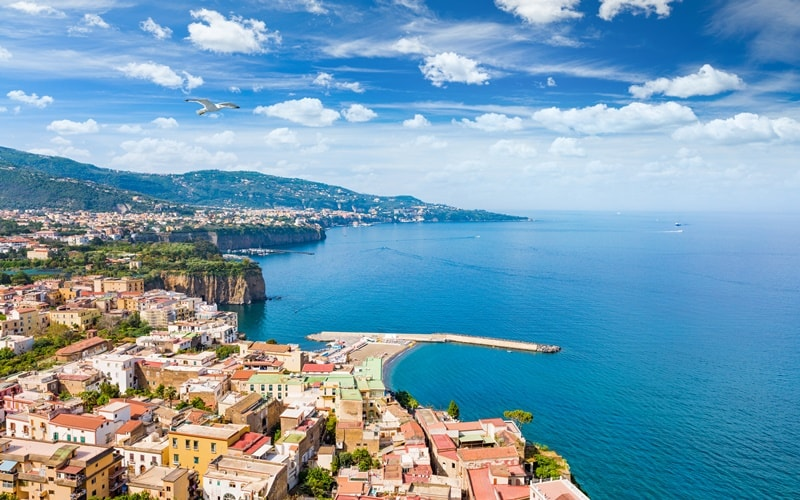 Italien Urlaub am Meer Sorrento