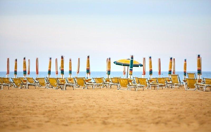 Italien urlaub am Meer Bibione