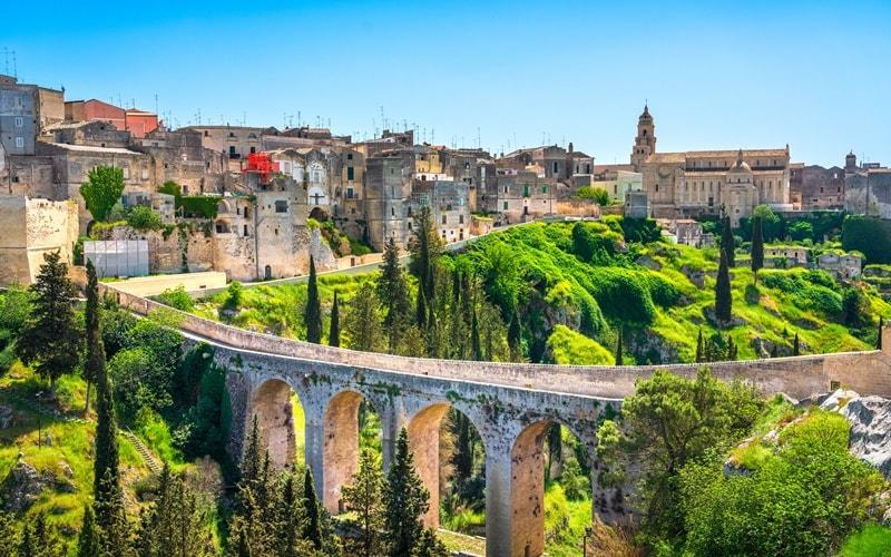 Italienische Landschaft Apulien