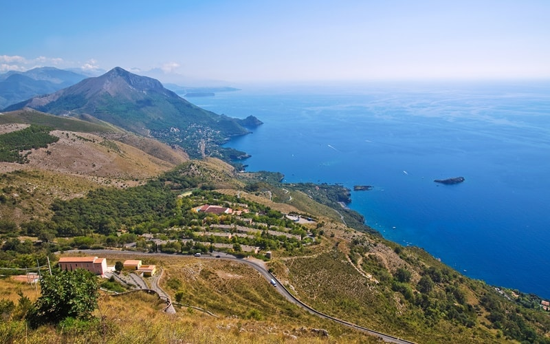 Italienische Landschaft Basilikata