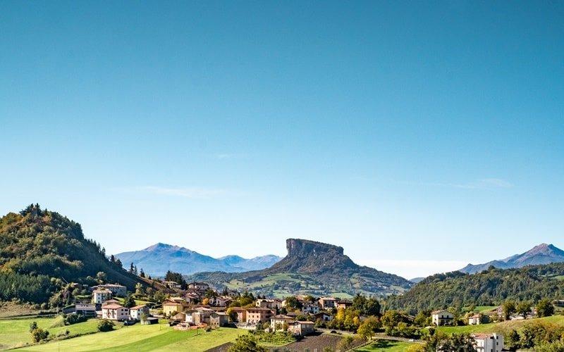 Italienische Landschaft Emilia-Romagna