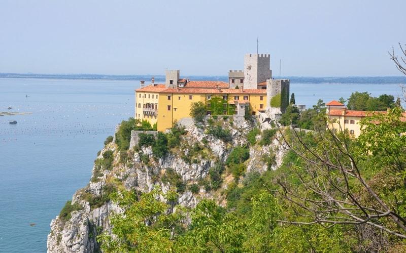 Italienische Landschaft Friaul-Julisch-Venetien