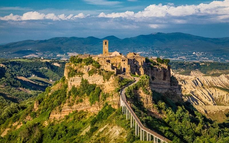 Italienische Landschaft Latium