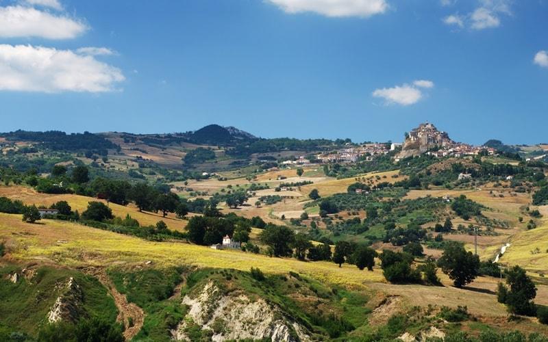 Italienische Landschaft Molise