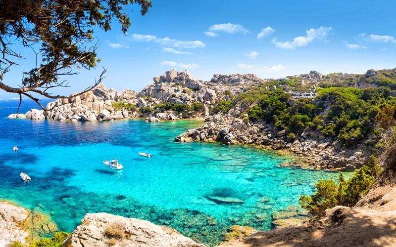 Italienische Landschaft Sardinien