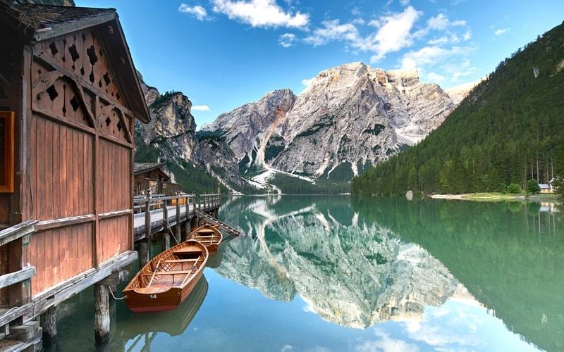 Italienische Landschaft Trentino-Südtirol
