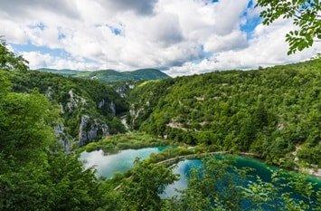 Kaluderovac Plitvicer Seen Kroatien