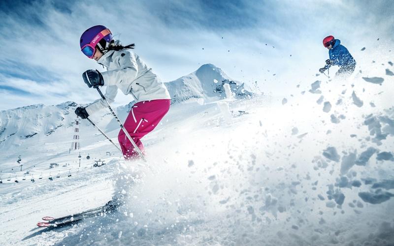 Kitzsteinhorn Skifahren Gletscher