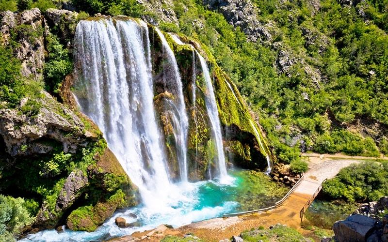 Krcic Slap Wasserfall Knin